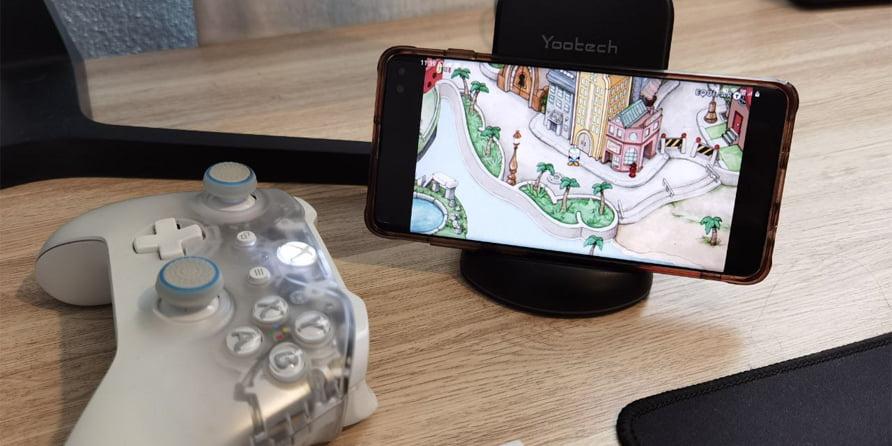 como transmitir juegos de consola y pc desde su telefono inteligente android