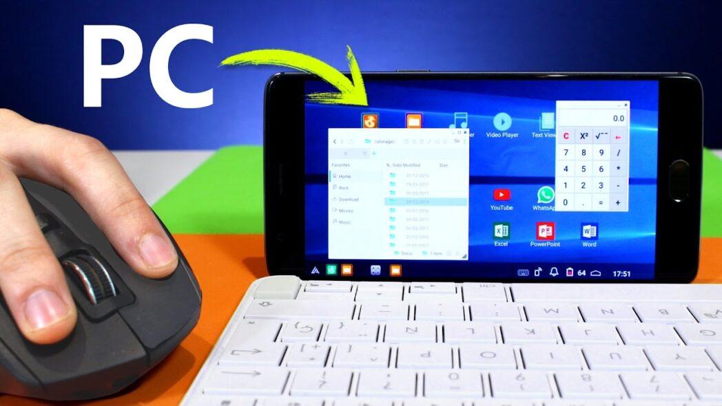 como usar android como computadora de escritorio