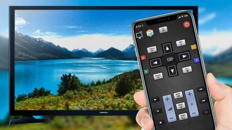 como usar un telefono inteligente android como control remoto de tv