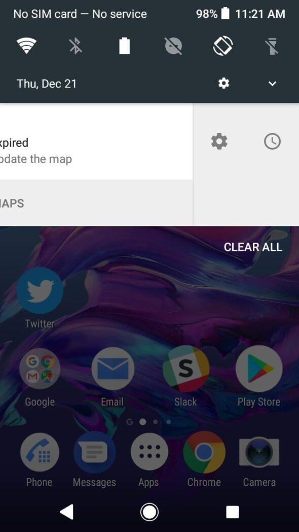 como ver la hora y las notificaciones en android sin desbloquear su telefono inteligente