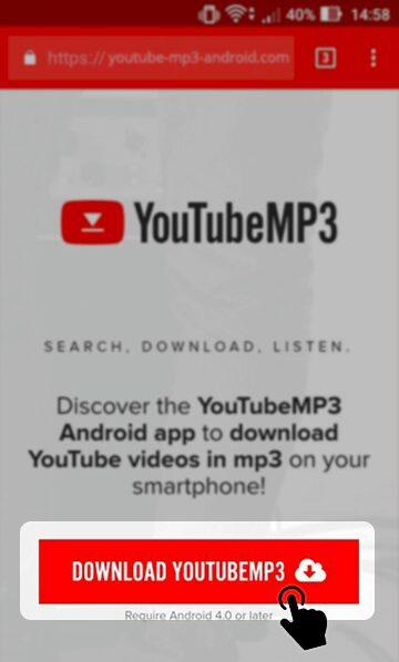 conversor de video a mp3 de youtube para android