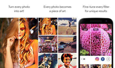 convierte tus fotos en obras de arte con prisma para android