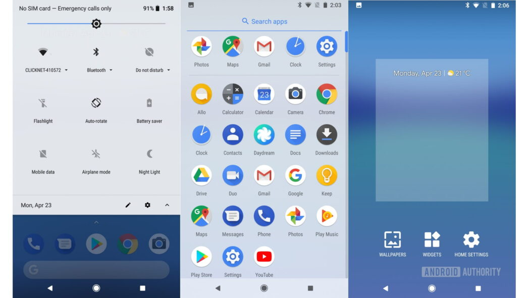 diferencia entre android stock android one y android go