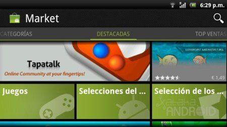 el nuevo android market 3 0 27 esta disponible he aqui como instalarlo