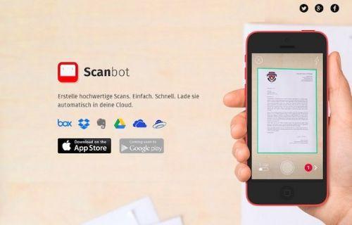 escanee documentos de android con scanbot