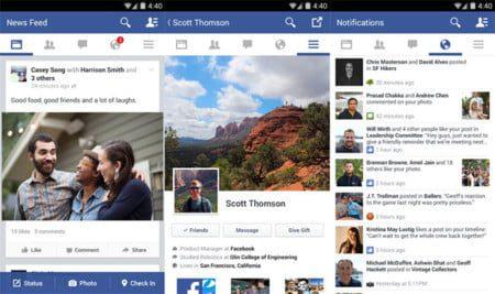 facebook 1 8 para android viene con una nueva interfaz 2
