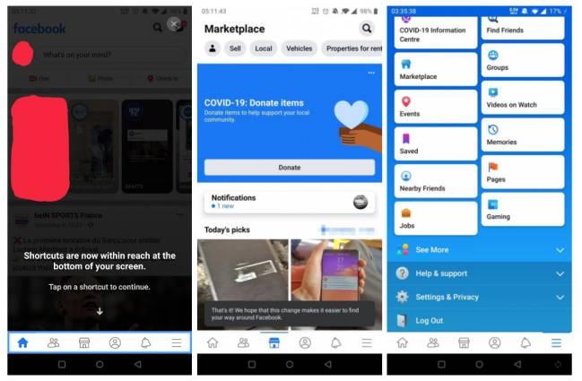 facebook esta probando una nueva barra de notificacion permanente en android 1