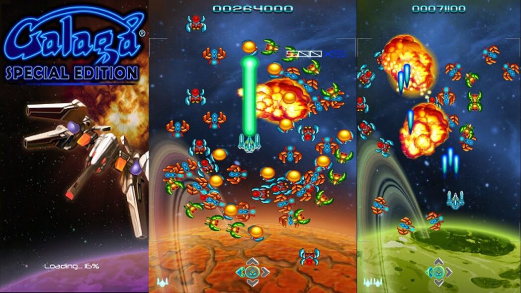 galaga special edition un juego de los 80 revivido en android 2