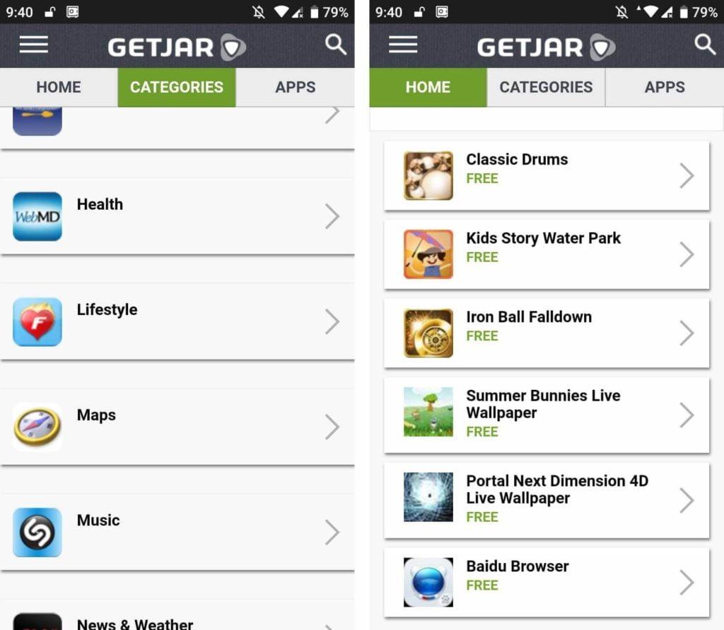 getjar android market lleno de aplicaciones pagas gratis 1