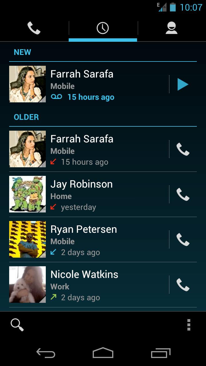 google voice para android optimizado para ice cream sandwich 2