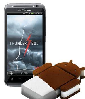 htc thunderbolt con android ice cream sandwich aqui esta la primera rom 1