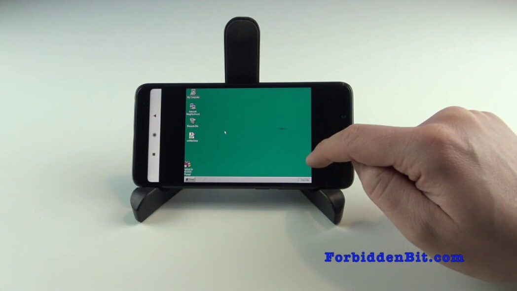 instale windows 95 en su nexus one en lugar de android 2