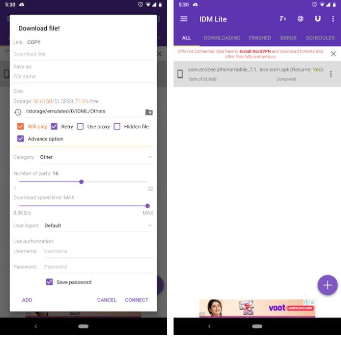las mejores aplicaciones de administrador de descargas para android para probar ahora