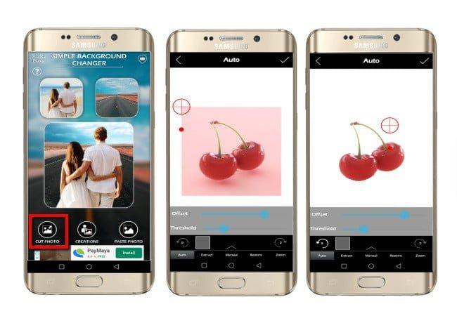 las mejores aplicaciones de android para cambiar el fondo de la foto a blanco
