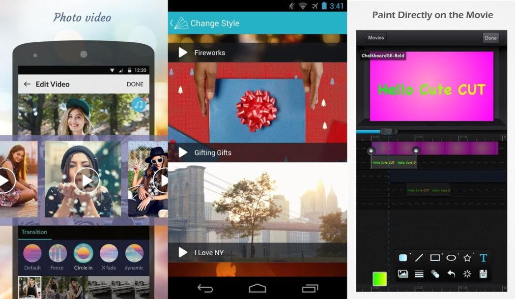 las mejores aplicaciones de android para crear videos con imagenes y musica
