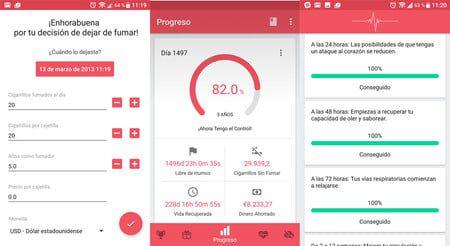 las mejores aplicaciones de android para dejar de fumar