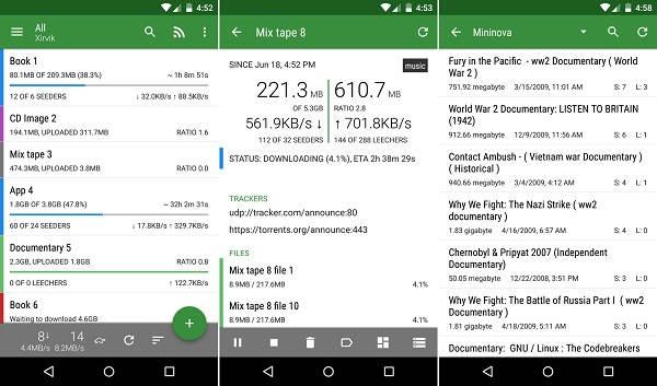 las mejores aplicaciones de android para descargar musica a p2p