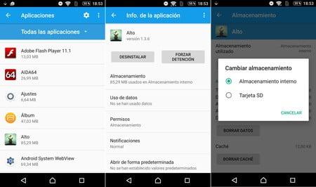 las mejores aplicaciones de android para transferir aplicaciones a la tarjeta sd