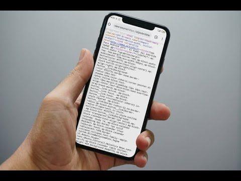 las mejores aplicaciones de android para ver la fuente html del sitio web