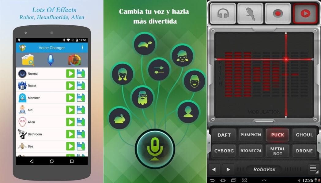las mejores aplicaciones de cambiador de voz para llamadas de android