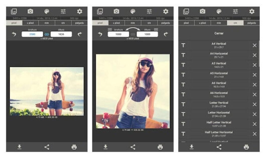 las mejores aplicaciones de cambio de tamano de fotos en android