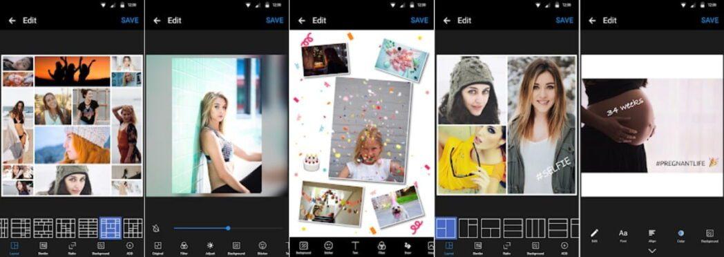 las mejores aplicaciones de collage maker para android para probar ahora