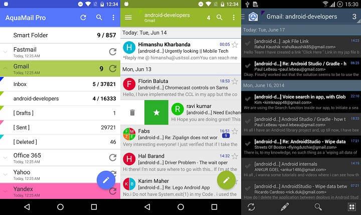 las mejores aplicaciones de correo electronico para android para probar ahora