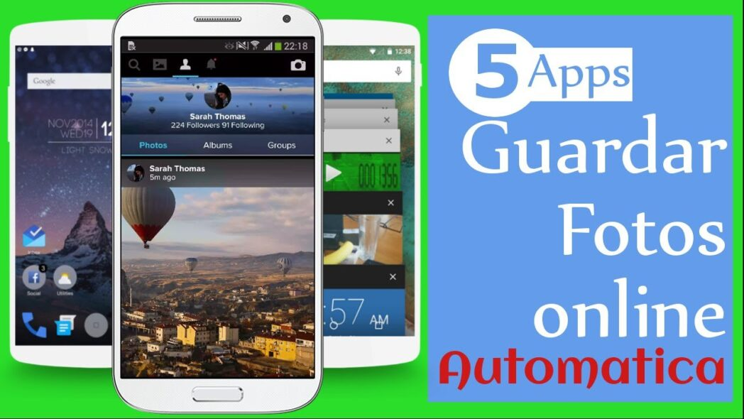 las mejores aplicaciones gratuitas de fotos y videos en la nube para android