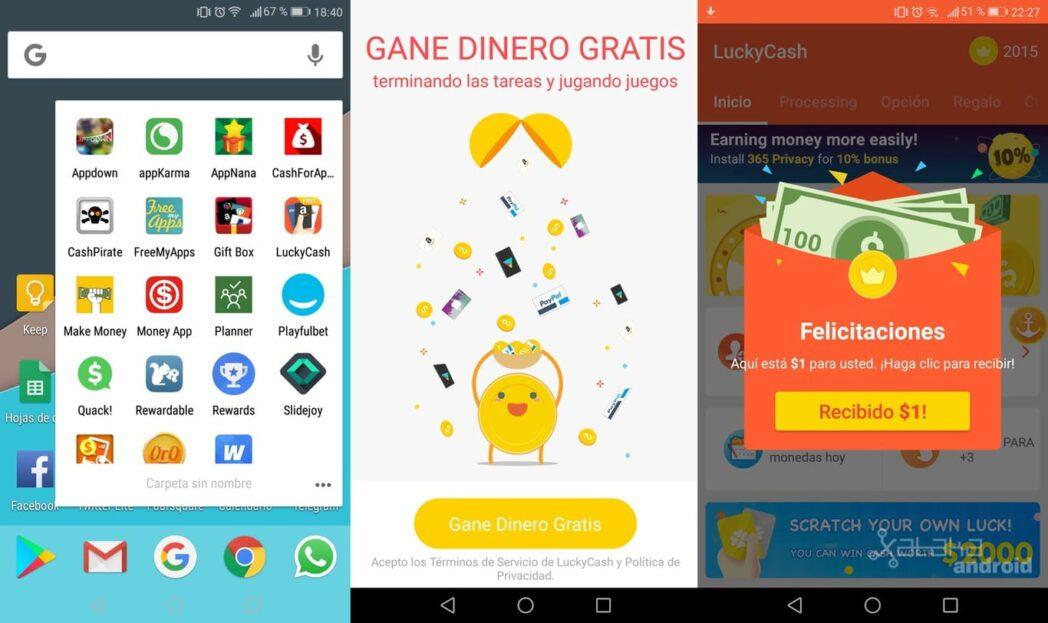 las mejores aplicaciones para ganar dinero en android