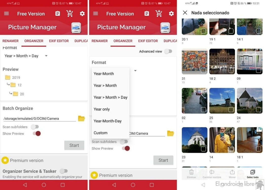 las mejores aplicaciones para organizar y guardar tus fotos en android