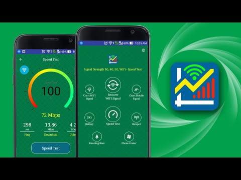 las mejores aplicaciones para verificar la velocidad de wi fi y la red 2g 3g 4g para usar en android