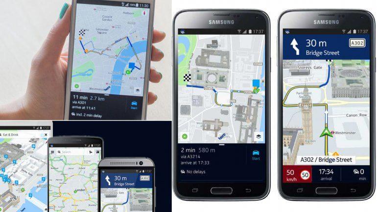 los mapas de nokia llegan a android y iphone compatibile con html5