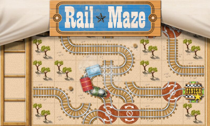 rail maze juego de rompecabezas de trenes android il gioco del giorno 1