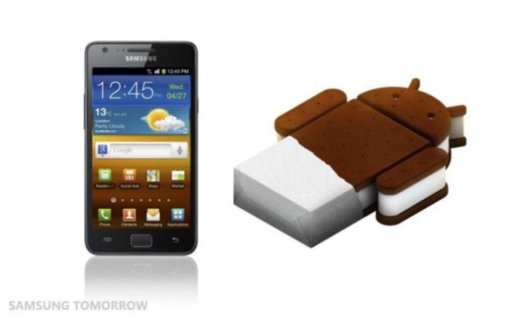 samsung galaxy s ii android ice cream sandwich lanzado hoy 1