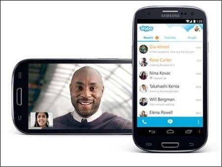 skype tambien introduce la multitarea en los telefonos inteligentes android 1