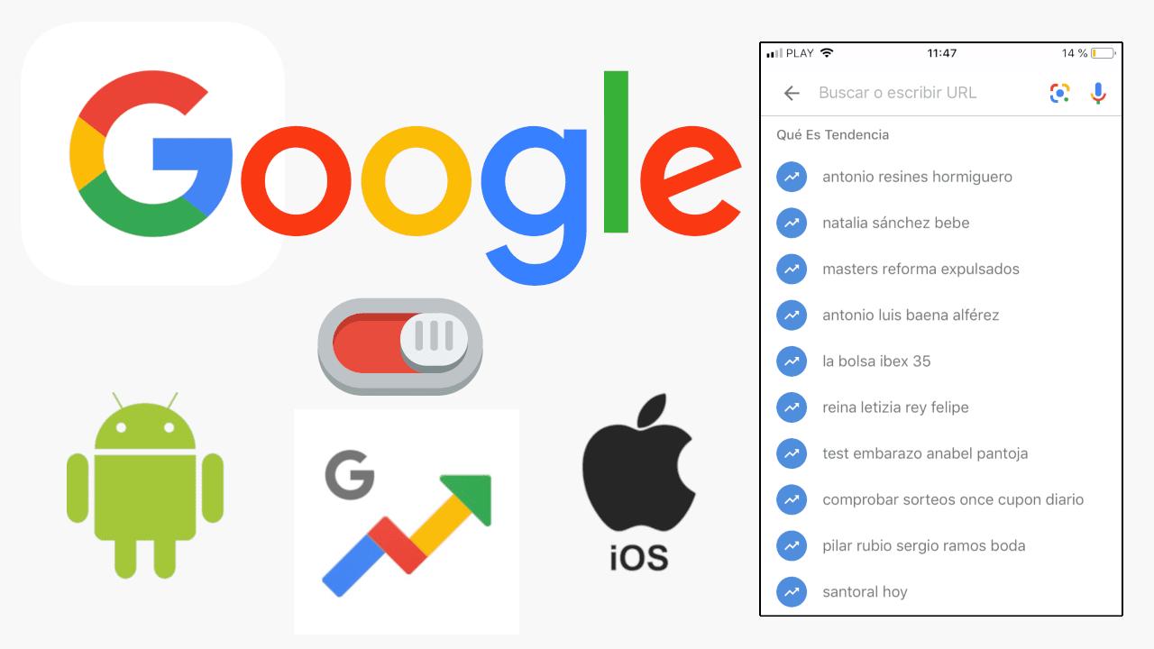 solucion bloquear la aplicacion de busqueda de google en android