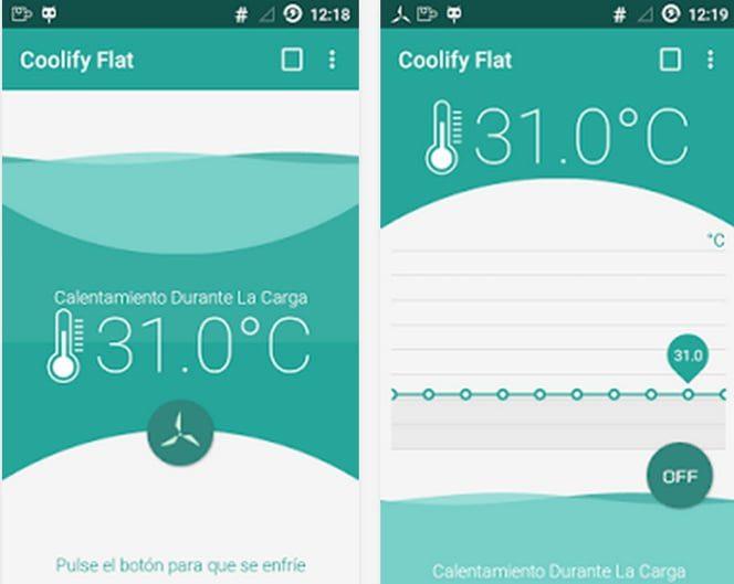 su telefono inteligente se esta sobrecalentando prueba coolify para android