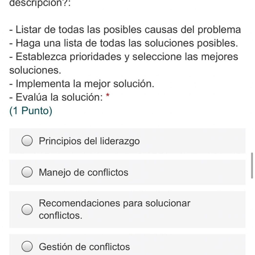todas las posibles causas y soluciones a los problemas