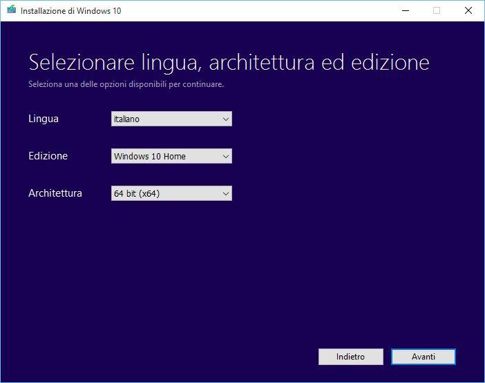 seleccionar idioma windows 10