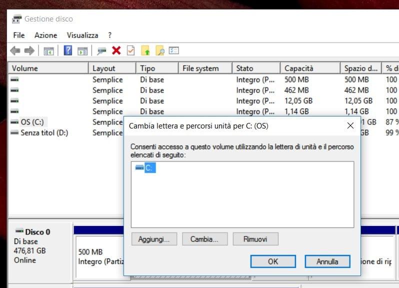 Administración de discos de Windows 4