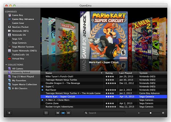 Emulador de Mac - openemu