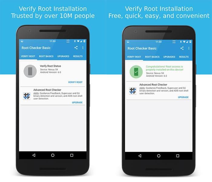 Aplicación de Android con Root
