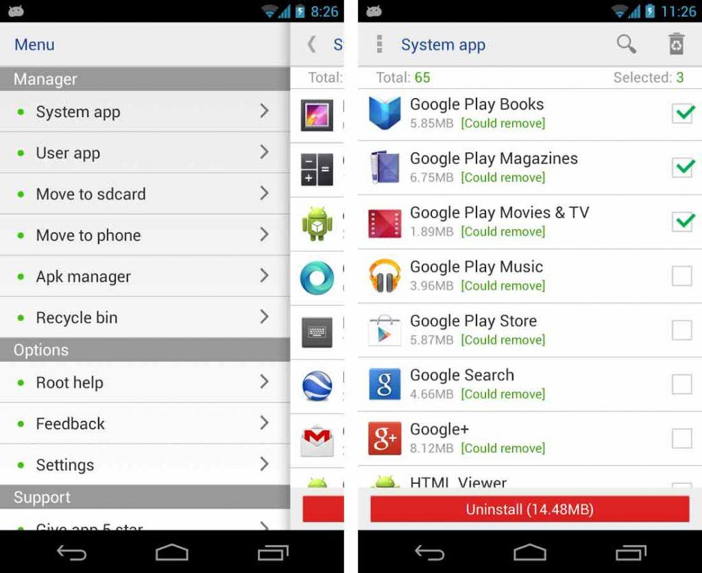 Aplicaciones de Android con Root 5