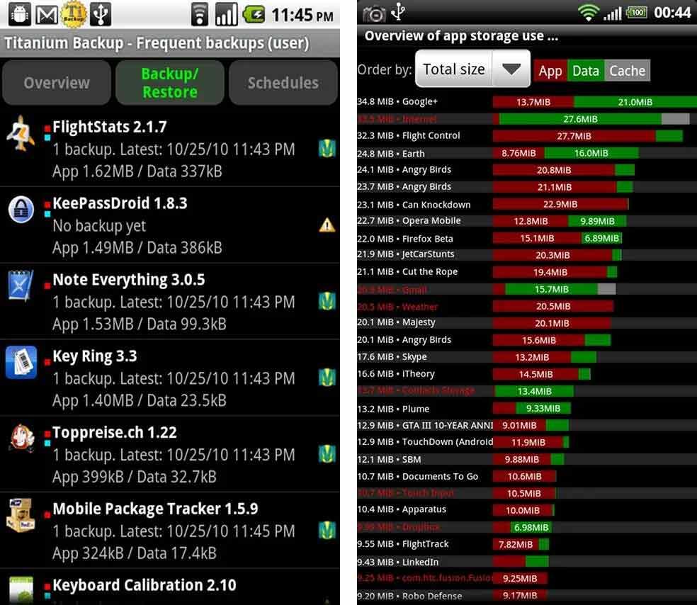 Aplicaciones de Android con Root 3