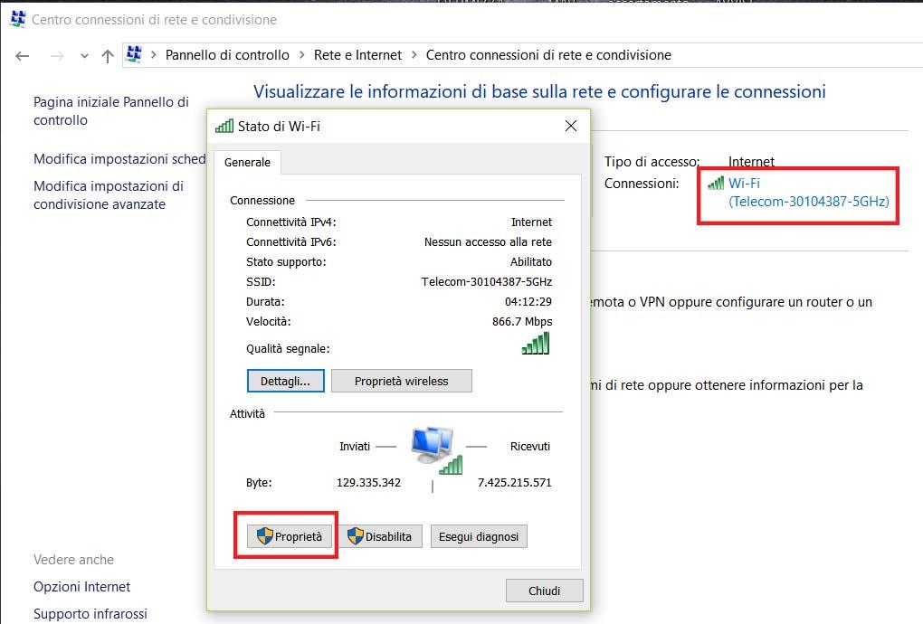 Configuración de NetBIOS