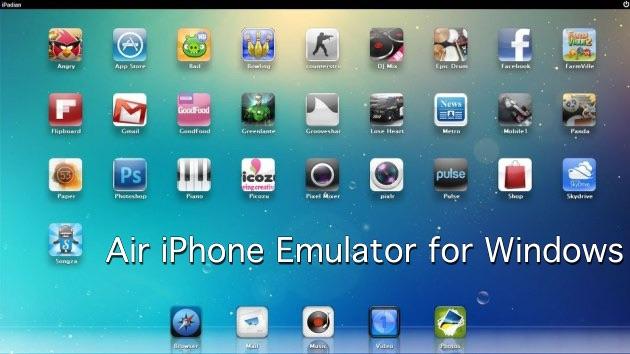 Emulador de IOS para Windows 2