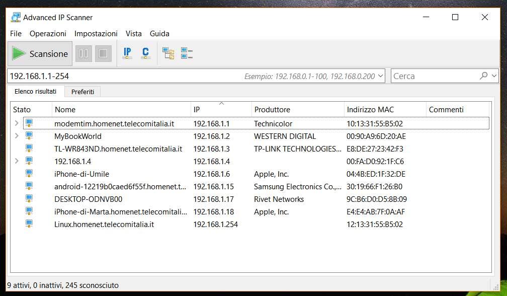 Escáner de IP avanzado