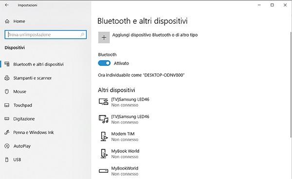 Bluetooth y otros dispositivos
