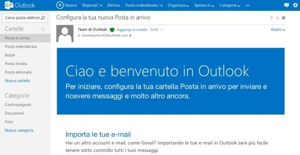 Dirección de correo electrónico de Hotmail
