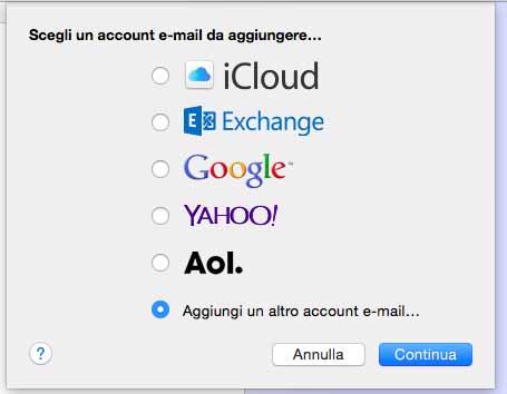 Hotmail con Mail en Mac